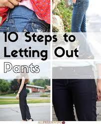 let pants out