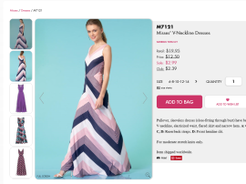 mcalls dress